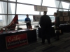 Candidates\' booths at the convention