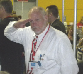 Dave at the GOP State Convention 2012. He will be missed.