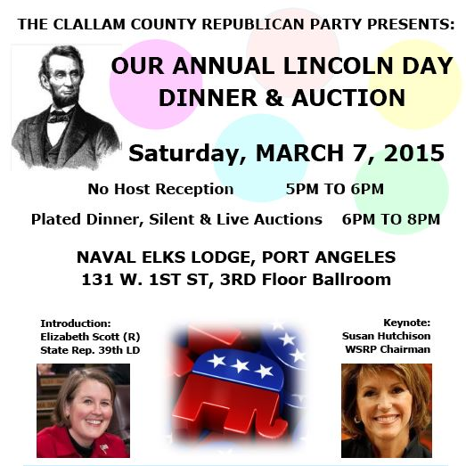 Lincoln Day Dinner 2015
