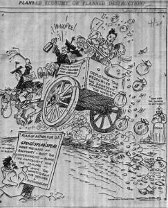 FDR 1934 political cartoon